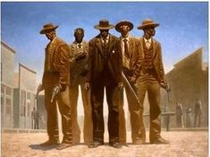By Kadir Nelson.there were and are black cowboys African American Artist, African American History, African Art, Black Panthers, Game Design, Kadir Nelson, Westerns, Black Art Pictures, Black Cowboys