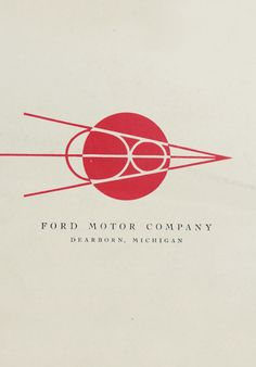 A beautiful vintager Ford logo from TypeHunting.com
