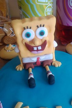 spongebob fondant figure - Google Search