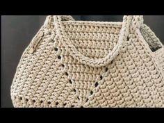 Bag Crochet, Crochet Backpack, Crochet Bracelet, Crochet Handbags, Crochet Purses, Filet Crochet, Crochet Bag Tutorials, Crochet Instructions, Crochet Videos