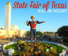 Don't pay full price at the State Fair of Texas. Here are some easy ways to save.