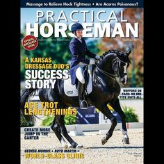 "@practicalhorseman ! ""True to its name Practical Horseman provides educational articles on training riding horsecare and competition. But this trend-setting magazine goes beyond the ""how-to"" to discuss a wide range of topics sport psychology to profiles of top riders and trainers."" #PNHSvendor15"