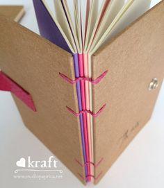 Coleção Love Kraft (lombada colorida), personalizado - studio  Páprica