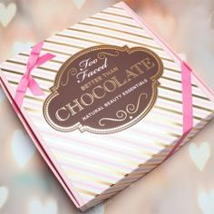 Too Faced Better Than Chocolate Natural Beauty Essentials Set ^_^ http://www.pintalabios.info/en/youtube-giveaways/view/en/180 #International #MakeUp #bbloggers #Giweaway