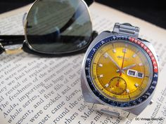 "NEW DCVW WATCH FOR SALE: 1973 Seiko 6139-6005 ""Pogue"" Automatic Chronograph"