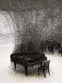 """Silence"" art installation by Chiharo Shirotain"