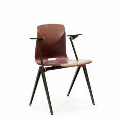Industriële vintage design stoel Thur-op-seat