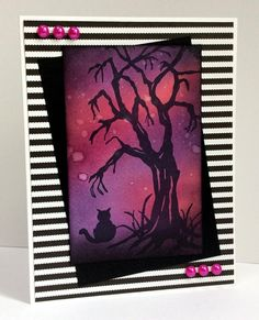 Just For Fun Rubber Stamps: Just For Fun October Challenge - Halloween!!