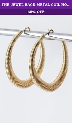 THE JEWEL RACK METAL COIL HOOP EARRINGS (Gold). FASHION DESTINATION PRESENTS THE JEWEL RACK METAL COIL HOOP EARRINGS. Buy brand-name Fashion Jewelry for everyday discount prices with Fashion Destination! Everyday LOW shipping *. Read product reviews on Fashion Necklaces, Fashion Bracelets, Fashion Earrings & more. Shop the Fashion Destination store for a wide selection of rings, bracelets, necklaces, earrings and diamond jewelry. Whether you are searching for men's jewelry, bridal jewelry...