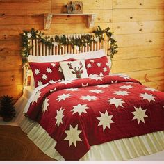 Charming Star Bedding Ideal For Christmas