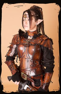Cool Stuff We Like Here @ CoolPile.com -------  ------- Wood Elven Armor by ~Lagueuse on deviantART