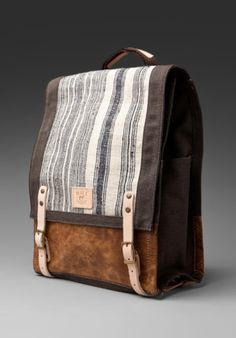 WILL Leather Goods Pha Sin Backpack in Brown