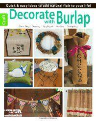 25 Clever Burlap DIY Projects | FiberArtsy.com