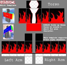 Here are the coolest roblox shirt templates collection ...