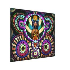 Alter Of Gratitude Stretched Canvas Print
