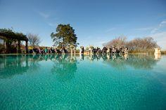 Horizon Pool Ceremony, Keswick Hall, Charlottesville, Virginia | Getting to know… wedding photographer Aaron Watson