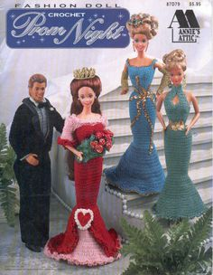 Barbie, Fashion Doll, CROCHET, Prom Night, pattern, http://knits4kids.com/collection-en/library/album-view?aid=2015