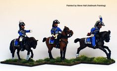 BAV 2 Mounted Staff, Perry Miniatures