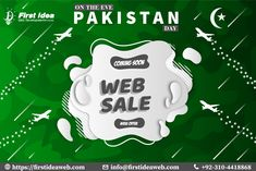 Target your Pakistan Day Web sale 2020 Discount! Pakistan Day, Software House, Price Plan, Web Development Company, Stay Tuned, Articles, Big