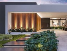 Trendy exterior house front home plans ideas Modern Patio, Modern Exterior, Exterior Design, Facade Design, Modern Architecture House, Residential Architecture, Architecture Design, Modern House Plans, Modern House Design