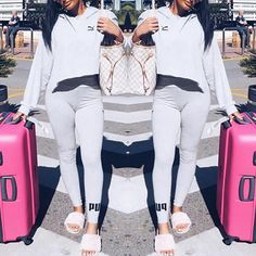 Fashion Print Long Sleeve Casual Hoodie Skinny Pantsuit