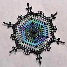 Ravelry: Coxcomb Peak Snowflake pattern by Deborah Atkinson