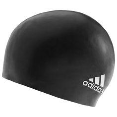 Pohodlná plavecká čepice značky adidas, vyrobena ze silikonu jak pro muže, tak pro ženy.