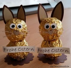 722 kleine Osterhasen The most historic Easter time gift items, as far as my personal Kids Crafts, Easter Crafts, Crafts To Sell, Diy And Crafts, Recycled Crafts, Handmade Crafts, Easter Gift, Happy Easter, Easter Bunny