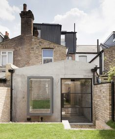 London House by Simon Astridge Features Plywood, Concrete, Brickwork, Stone & The Sky   Yellowtrace