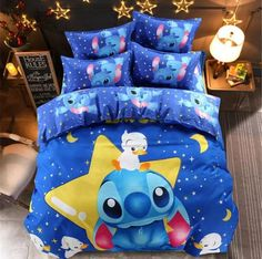 Full Size Duvet Cover, Comforter Cover, Comforter Sets, Duvet Cover Sets, King Comforter, Blue Bedding Sets, Blue Duvet, Queen Bedding Sets, Lilo Ve Stitch