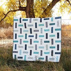 Brick by Brick Quilt Pattern by Sweetwater
