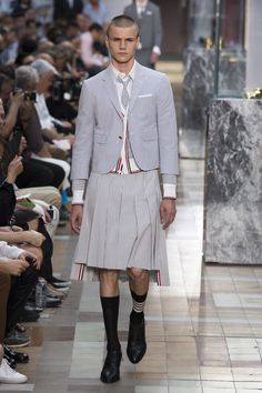 Thom Browne Spring 2018 Menswear Fashion Show Collection