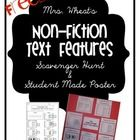This packet includes everything your PRIMARY students will need to learn about text features. There is a scavenger hunt worksheet, for use with ANY...