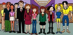 Daria= when MTV was good or even relatedable. not crappy