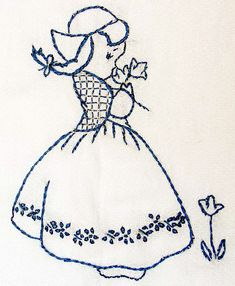 Bluework embroidery tutorial -- FABULOUS site, with TONS of info about needlework & embroidery!!! <3