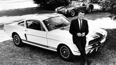 Automotive icon, Carroll Shelby and the legendary Ford Mustang GT350. He died today at the age of 89.