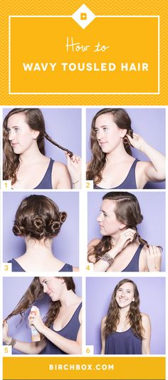 """6 steps to score that enviable """"bedhead look""""—no hot tools required."""