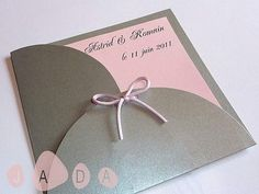 Faire-parts MARIAGE personnalisés Rose Trees, Place Card Holders, Gifts, Crafts, Presents, Favors, Gift, Pink Trees