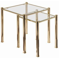 Urbane Designs Palazzo 2 Piece Nest of Tables