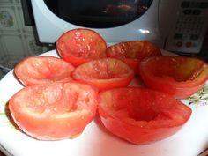 Aprenda a fazer Receita de Tomate seco de micro-ondas, Saiba como fazer a…