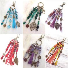 These look amazing Bridal Jewelry, Beaded Jewelry, Handmade Jewelry, Silver Jewelry, Diy Jewelry Projects, Jewelry Crafts, Diy Keychain, Jewelry Packaging, Bead Crafts