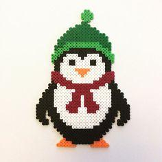 Penguin perler beads by  the_perlair