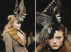 Fashion : Alexander McQueen's 'Savage Beauty' – V&A Museum, London