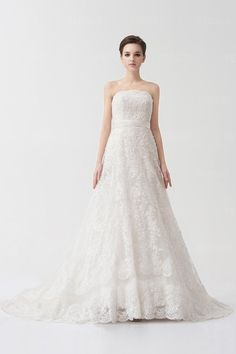 Tanti Pizzi #A-Line #Abiti Da #Sposa Per Matrimonio - Persunit.com