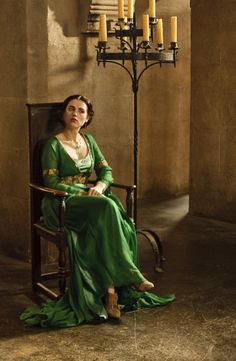 BBC Merlin Morgana Style Renaissance Medieval Cosplay Fancy Dress Costume Made to Order in Your Choice of Colour.