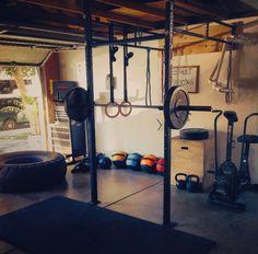 Garage gym racks titan folding squat rack for very solid see
