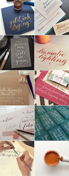 Behind the Scenes – Instagram Lately - Plurabelle Studio | Calligraphy & Graphic Design