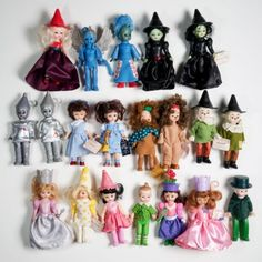 2007-2008-McDonalds-Happy-Meal-Madame-Alexander-Wizard-of-Oz-doll-set-COMPLETE
