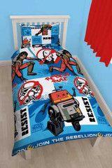 STAR WARS ~ Rebels Rule Single Bed Quilt Set