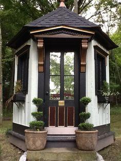 The Garden Folly.  Roseview Dressage, Millbrook, NY.  http://pinterest.com/RosevieDressage/